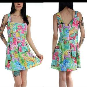 Iron Fist Rare My Little Pony Printed VTG Dress